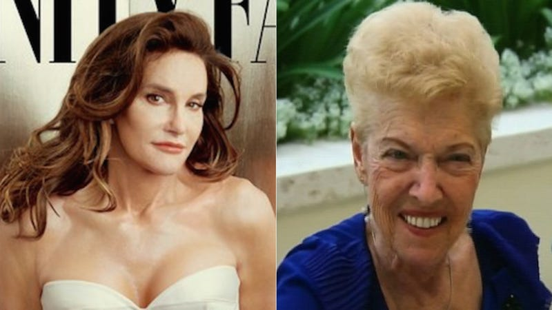 Illustration for article titled Caitlyn Jenner's Mom Esther: 'I Still Have to Call Him Bruce'