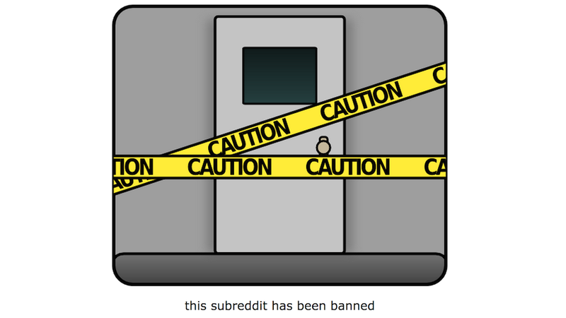Illustration for article titled Reddit Has Banned /r/TheFappening