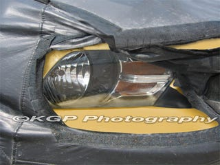 Illustration for article titled 2010 Ford Mustang Headlight Shines Light On Design Cues