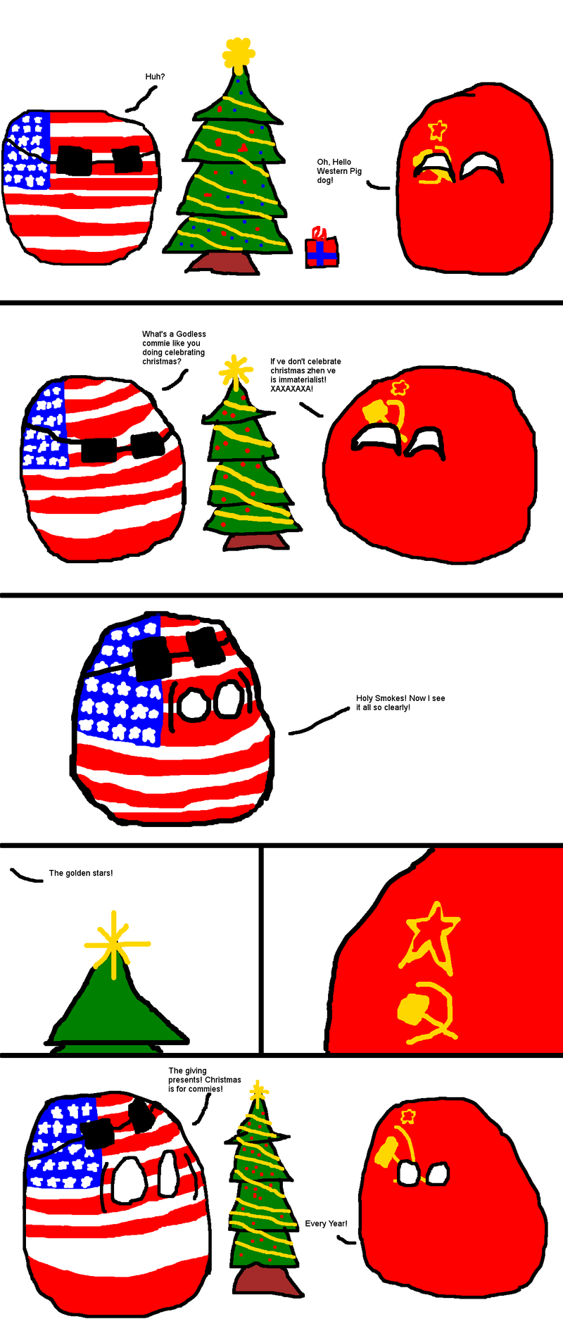 Happy Holidays commies