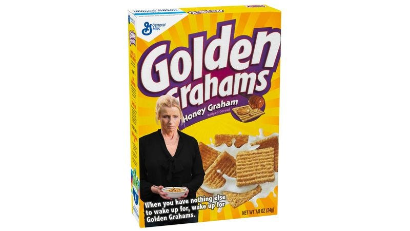 Illustration for article titled Changing Strategies: Golden Grahams Is Rebranding Itself As A Cereal Exclusively For People Who Are Grieving