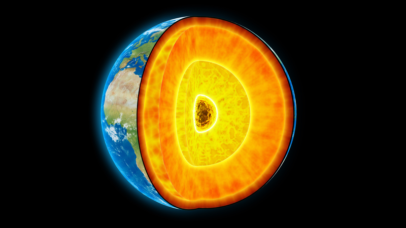 Illustration for article titled The Center of the Earth Is 1,000°C Hotter Than We Thought