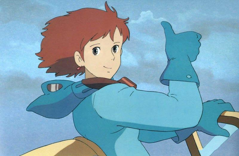 Illustration for article titled Hayao Miyazaki explica por qué decidió dibujar los pechos de Nausicaä intencionadamente grandes