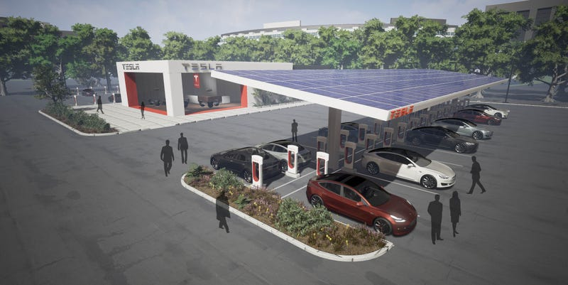 Tesla to double Supercharger stations to over 10000 this year