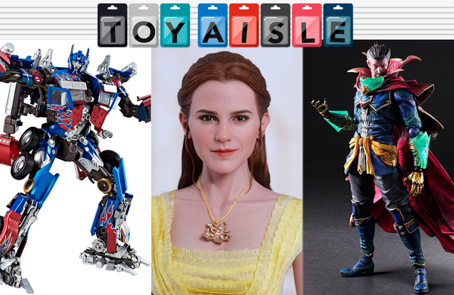 an incredibly shiny optimus prime and the rest of this week s coolest toys
