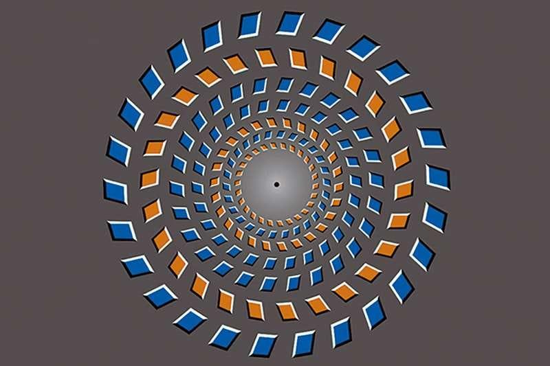 Illustration for article titled En tan solo 15 milisegundos esta ilusión es capaz de romperte la cabeza, y ahora sabemos por qué