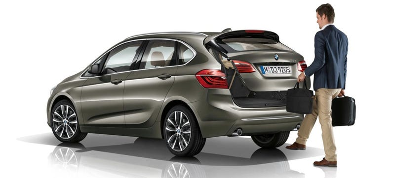 Illustration for article titled Meet The BMW Owners Who Love That The 2-Series Active Tourer Is FWD
