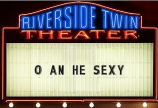 Illustration for article titled Someone May Have Vandalized Doug's Marquee