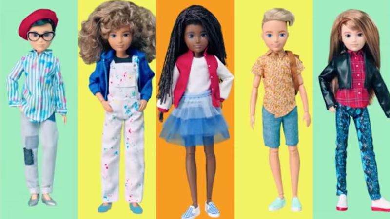 Illustration for article titled Barbie-maker Mattel releases new line of gender-neutral dolls