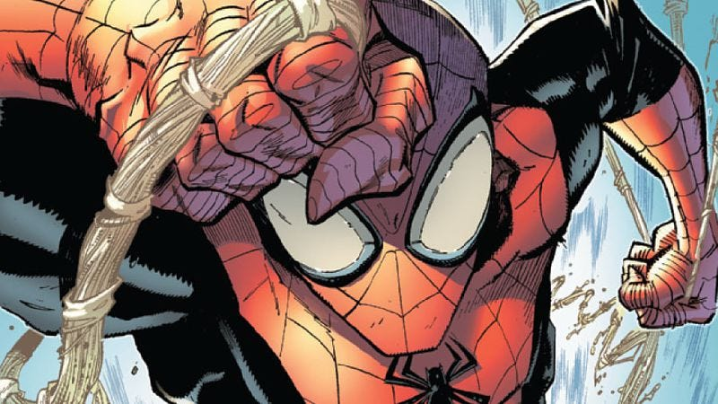 Illustration for article titled Superior Spider-Man #1 resolves a storyline that provoked death threats