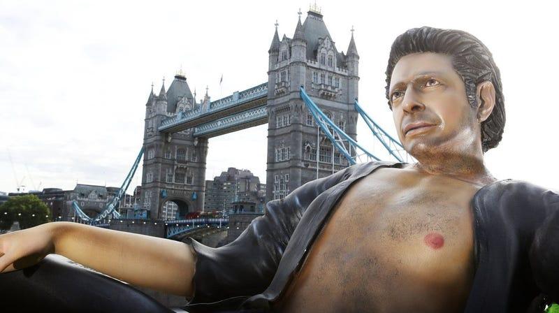"Illustration for article titled Jeff Goldblum ascends to ""graven image"" status"