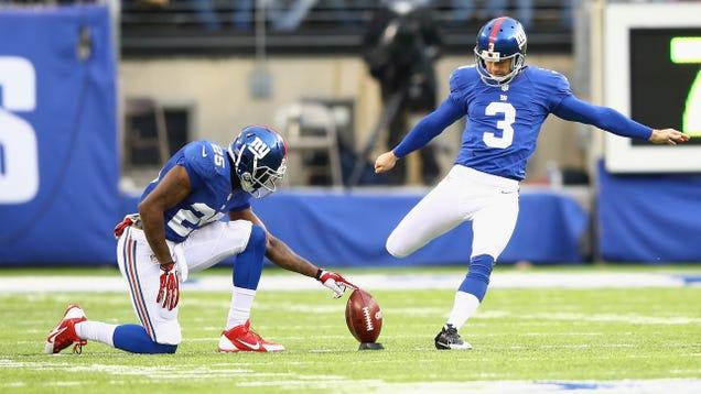 Giants cut kicker Josh Brown