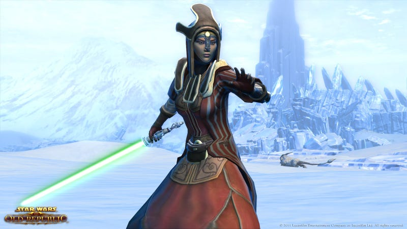 Illustration for article titled This Weekend, Play Star Wars: The Old Republic For Free