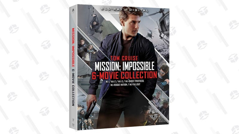 Make Off With All Six Mission: Impossible Movies For Just $30