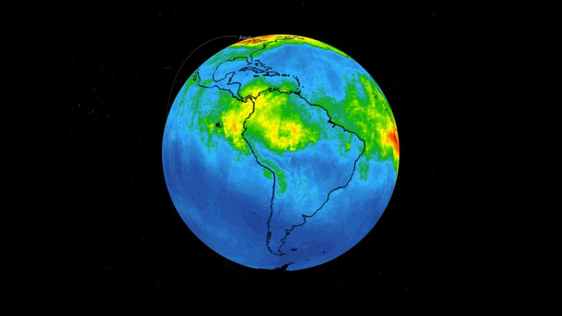 The Amazon Fires Coughed Up an Enormous Plume of Carbon Monoxide