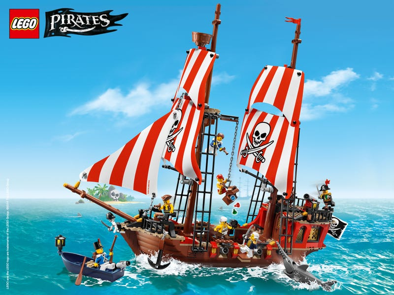 Illustration for article titled Lego Pirates preview images on Lego.com