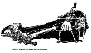 Illustration for article titled Death Will Ride the Wings of Radio