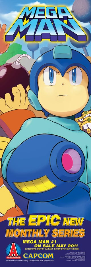 Illustration for article titled An exclusive first look at the new Mega Man comic