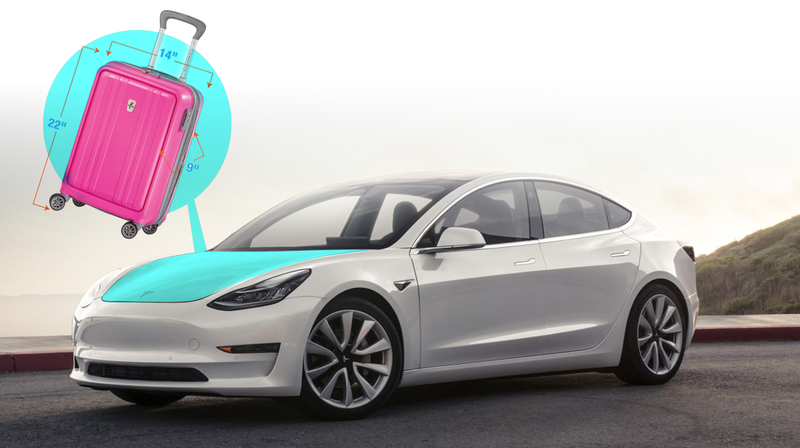 Illustration for article titled The Tesla Model 3 Frunk Is A Triumph Of Marketing
