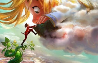 """Illustration for article titled Disney To Make Gigantic, the """"Definitive"""" Jack and the Beanstalk Movie"""