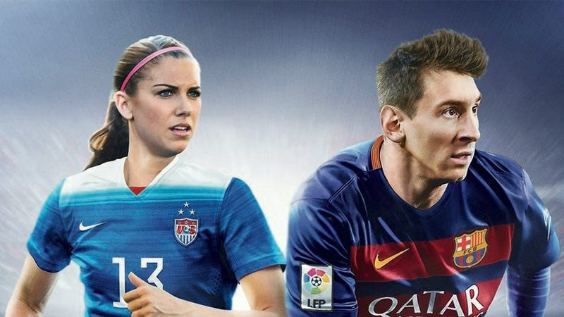 Illustration for article titled FIFA 16 US Cover - Alex Morgan