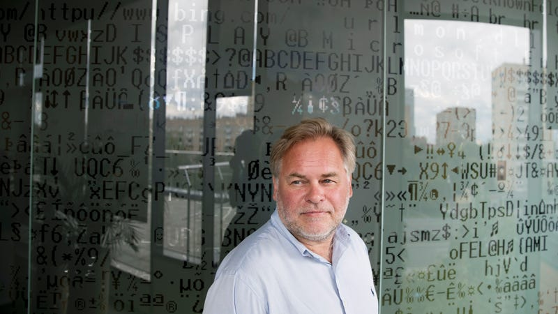 Eugene Kaspersky, Russian antivirus programs developer and chief executive of Russia's Kaspersky Lab, at his company's headquarters in Moscow, Russia.