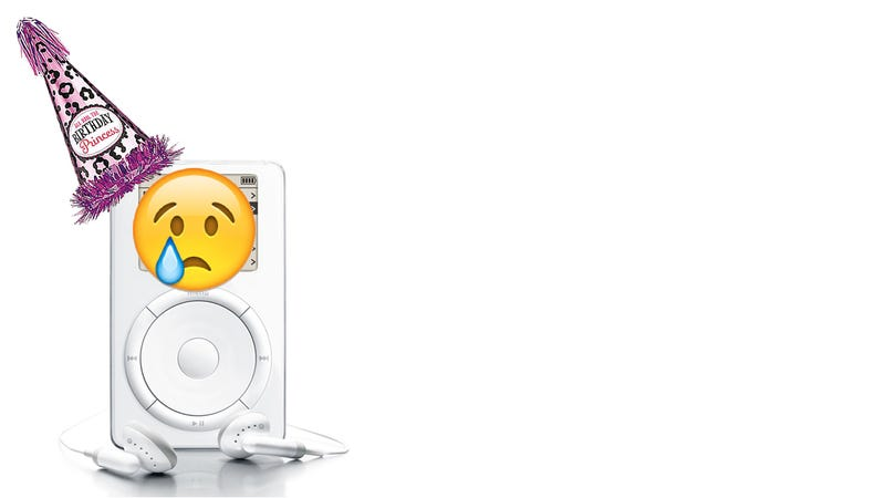 Apple Forgets to Celebrate the iPod's 15th Birthday
