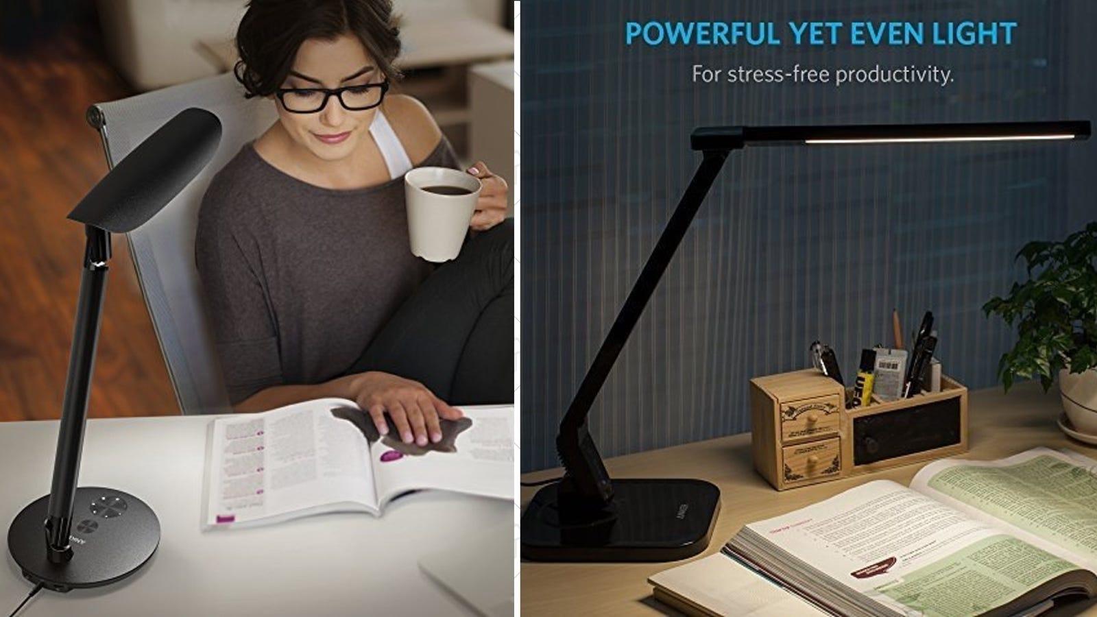 Anker S Discounted Desk Lamps Change Color Temperature