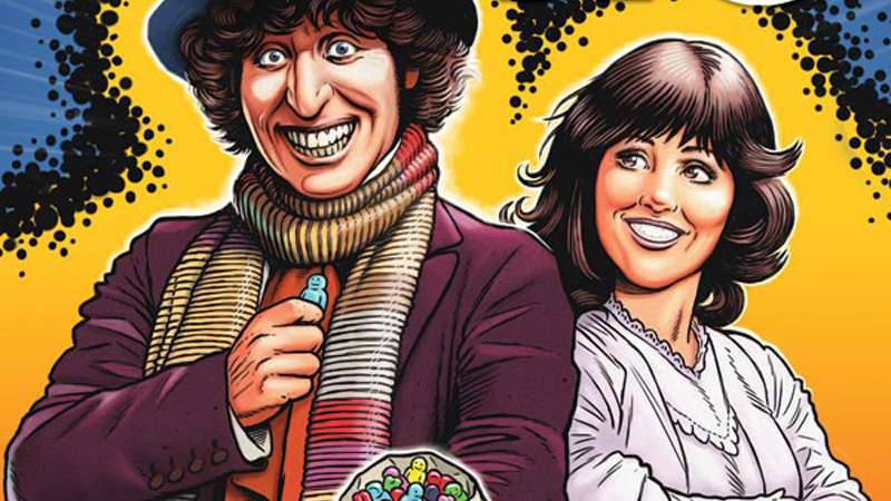 Illustration for article titled Oh My God, the Fourth Doctor Is Getting His Own Doctor WhoComic