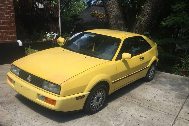 """Illustration for article titled At $1,500, Is This """"Fair"""" 1990 VW Corrado G60 A Fair Deal?"""