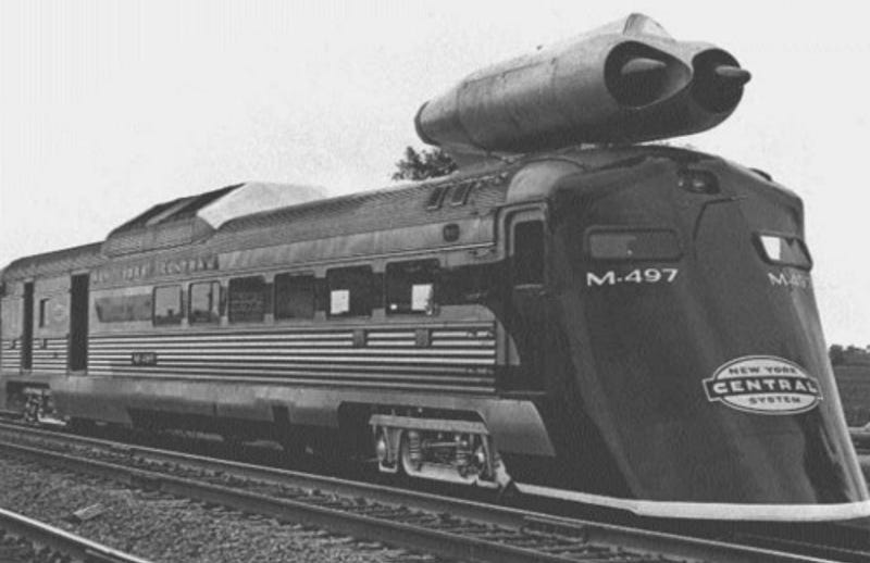 Illustration for article titled This 1960s Jet Train Is Still America's Fastest Locomotive
