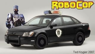 Illustration for article titled 2008 Ford Taurus: Robocop Edition
