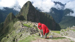 Illustration for article titled Machu Picchu: The Apex Of Tebowing