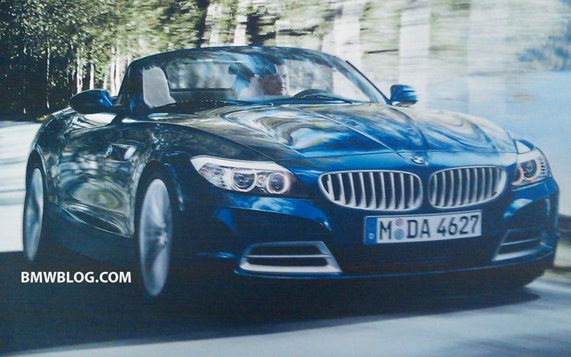 New BMW Z4 Brochure Scans Leak