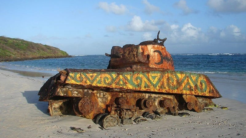 Illustration for article titled These Abandoned Tanks Are Rusting Mementoes of the Wars of the Past