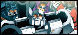 Illustration for article titled First Look At Decepticons From A Megatron-Dominated Earth