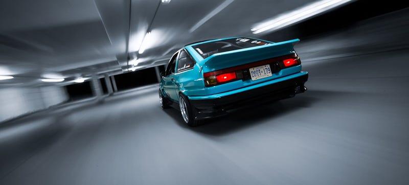 Toyota AE86 by Timothy Corbin