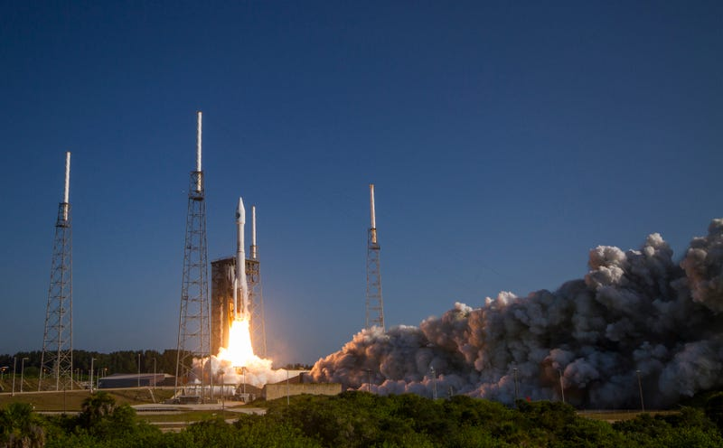 Another Atlas V, carrying something secret for the military, blasts off in July (Image: ULA)