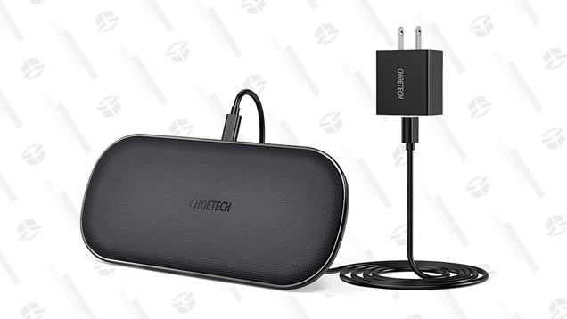 Charge Two Devices at Once With This $22 Dual Wireless Charging Pad