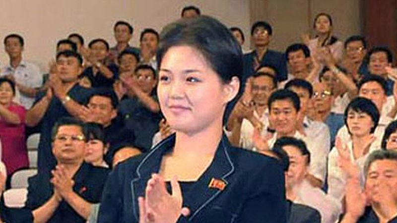 Illustration for article titled Kim Jong-Un's Wife On Nuclear Threats: 'This Isn't The Man I Was Forced To Marry'