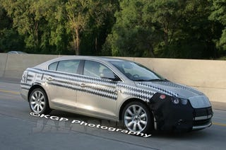 Illustration for article titled 2010 Buick LaCrosse Spied, Possibly In Pursuit Of Lincoln MKS