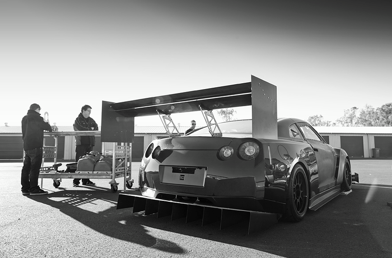 Illustration for article titled Can anyone see this awesome GTR?