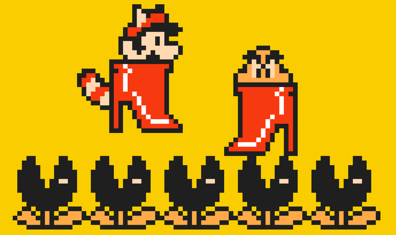 Illustration for article titled Mario Maker 'My Wife' Level Tells A Short, Sad Story