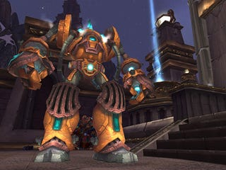 Illustration for article titled New World Of Warcraft Raid Dungeon Is Voltron Epic