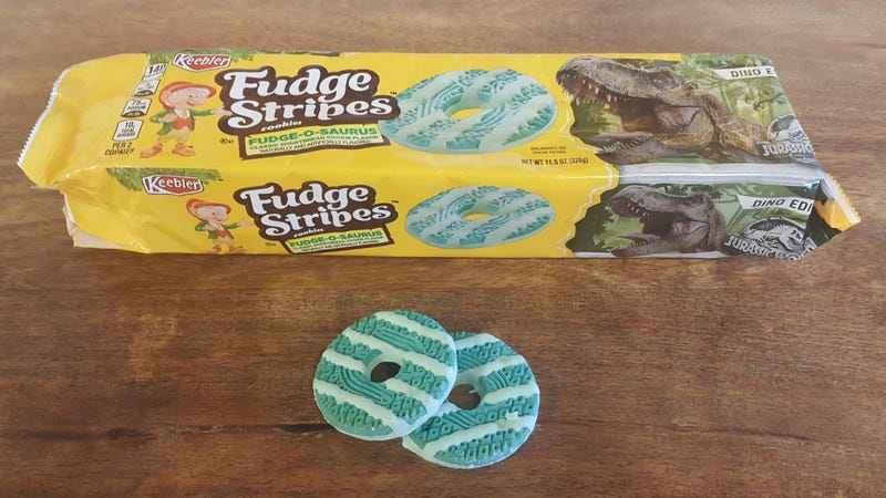 Illustration for article titled Last Call: Fudge-O-Saurus Fudge Stripes are an insult to cookiedom