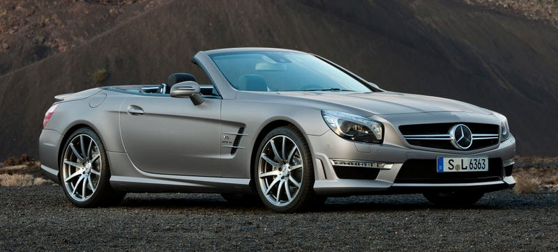 Illustration for article titled Why Is The Mercedes SL Getting So Ugly?