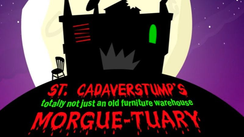 Illustration for article titled The Homestar Runner Halloween cartoon is here, and it's the best