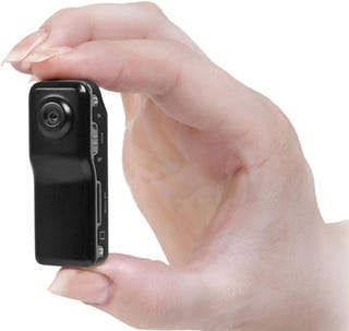 Illustration for article titled The World's Smallest DV Camera Could Reveal World's Largest Scandal