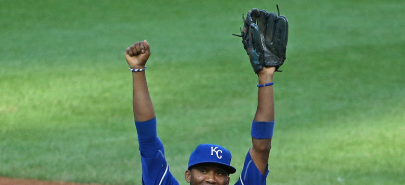 Illustration for article titled Alcides Escobar Really Threw The Dick Off The Ball Yesterday