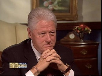 """Illustration for article titled Bill Clinton Believes """"Vast Right Wing Conspiracy"""" Is Now Targeting President Obama"""